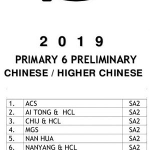 buy 2019 primary 6 exam papers test papers 17